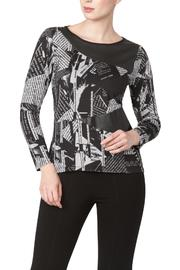 Yvonne Marie Grapnic Top With Pleater - Product Mini Image