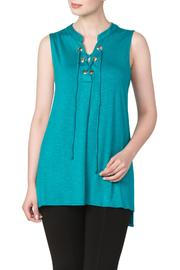 Yvonne Marie Jade Tunic Top - Product Mini Image