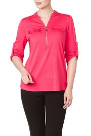Yvonne Marie Pink Blouse - Product Mini Image