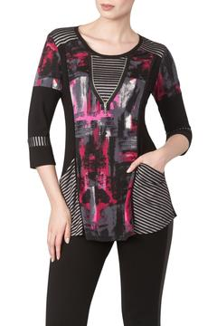 Shoptiques Product: Red Combo Tunic Top