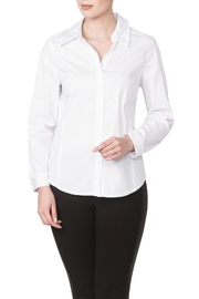 Yvonne Marie White Blouse - Product Mini Image