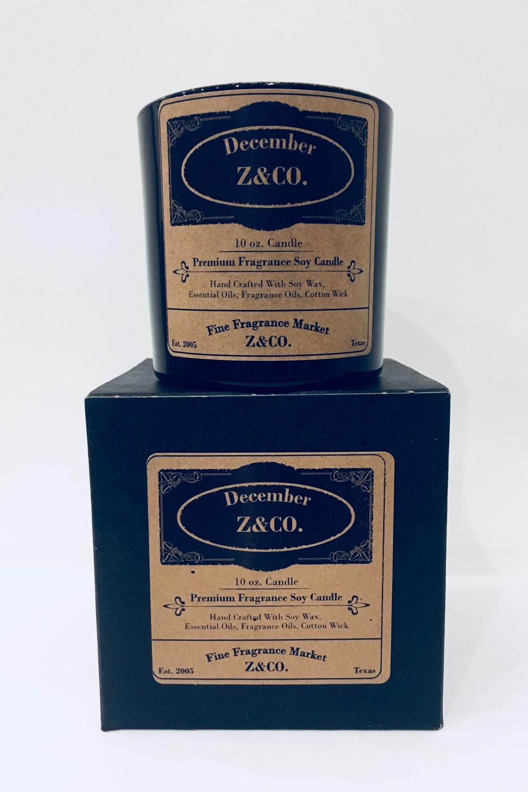Z&Co. December Soy Candle - Main Image