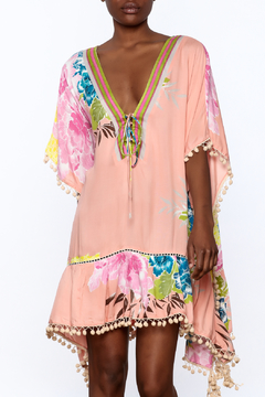 Z&L Europe Floral Cover-Up Top - Product List Image