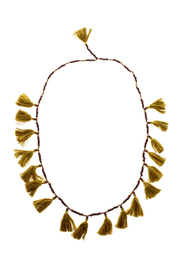 Z&L Europe Tassel Necklace - Front cropped