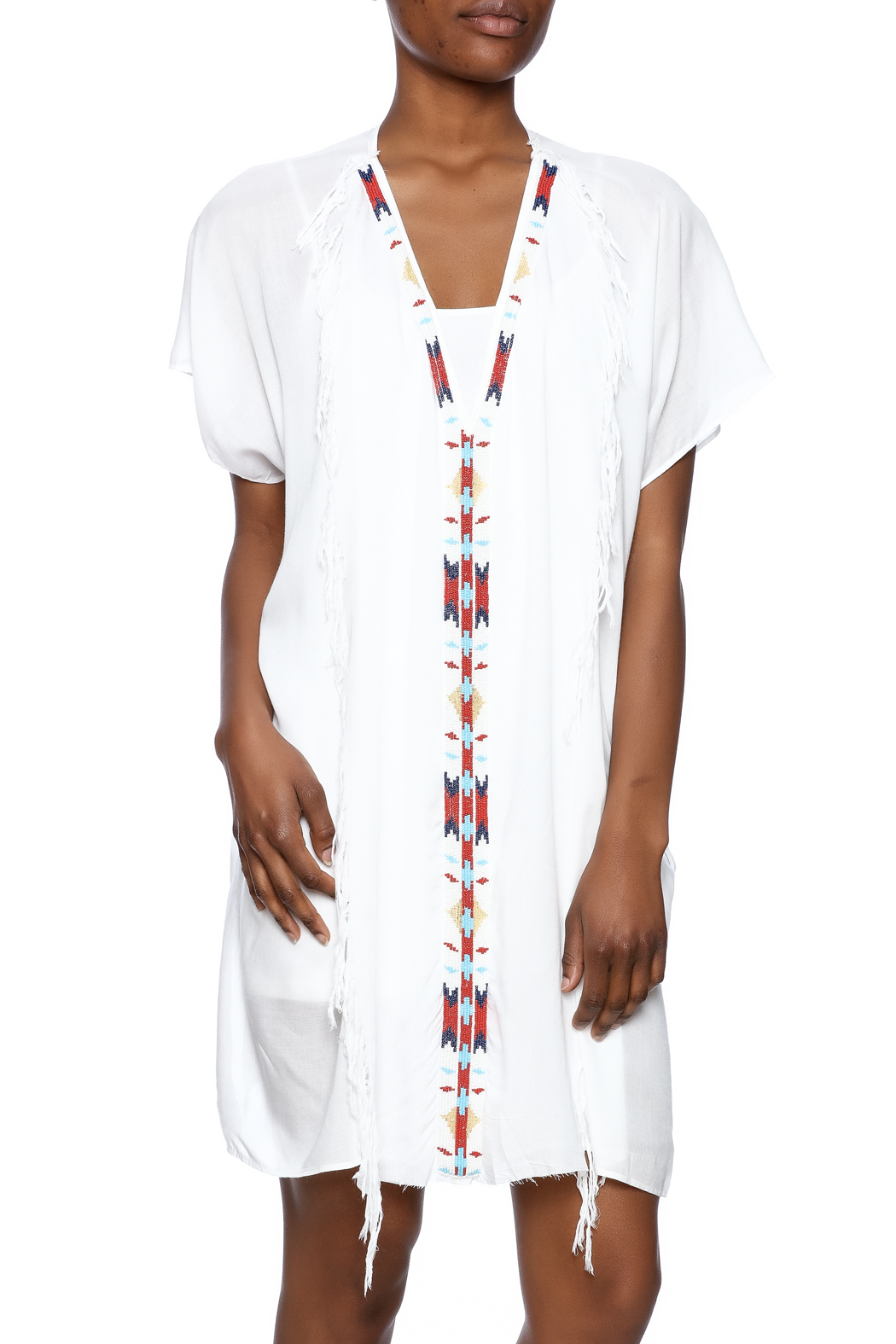 Z&amp-L Europe White Tunic Dress from Arizona by Old Town Gypsy ...