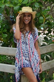 Z&L Europe Beach Cover Up - Front cropped