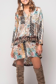 Z&L Europe Tapestry Shirt Dress - Product Mini Image