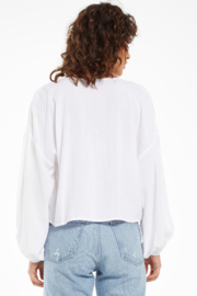 z supply Z Supply Coral Isle Top - White - Side cropped