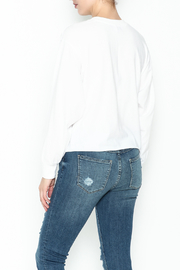 z supply Cropped Sweatshirt - Back cropped