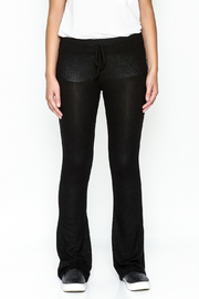 z supply Sheer Black Bootcut Pants - Front full body