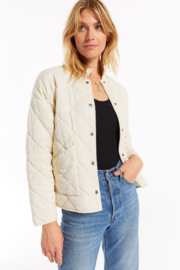 z supply  Z Supply MAYA QUILTED JACKET - Product Mini Image