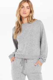 z supply  Z Supply NOA MARLED TOP - Product Mini Image