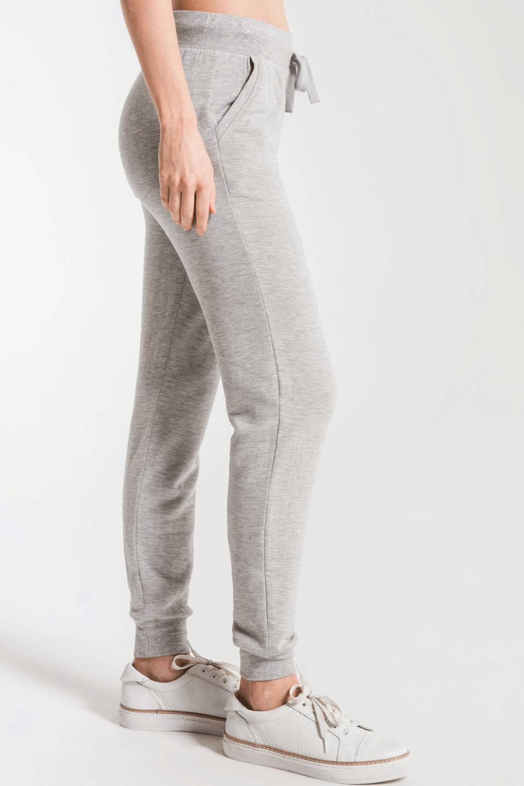 z supply Premium Fleece Jogger - Side Cropped Image