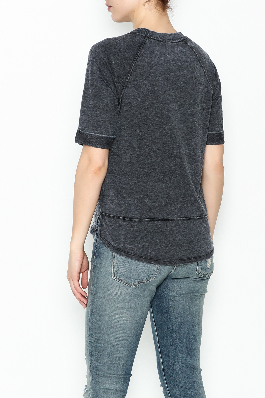 z supply Raglan Soft Top - Back Cropped Image