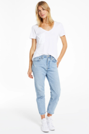 z supply Z Supply  Solid Pocket Tee - Back cropped