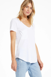 z supply Z Supply  Solid Pocket Tee - Product Mini Image