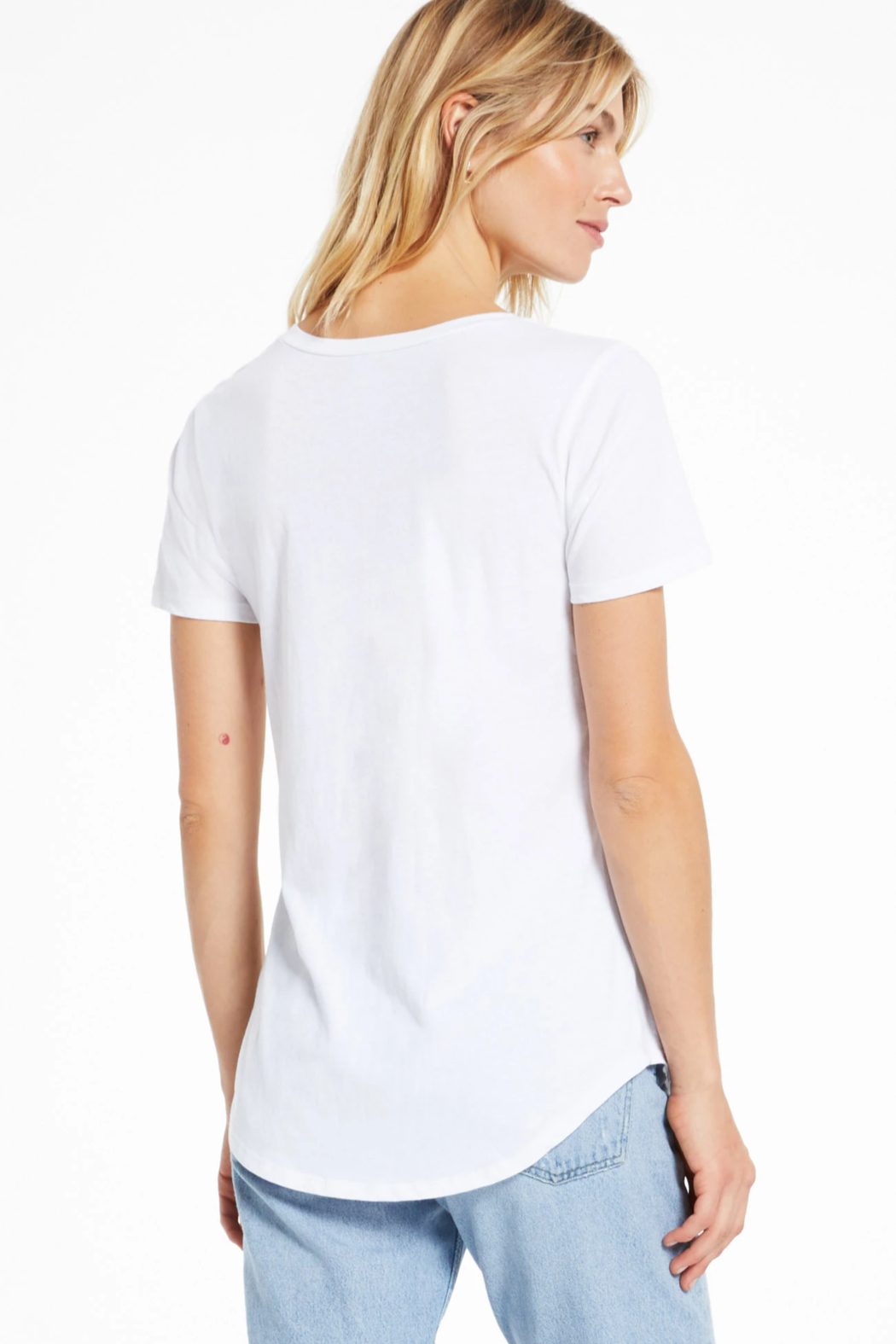 z supply Z Supply  Solid Pocket Tee - Side Cropped Image