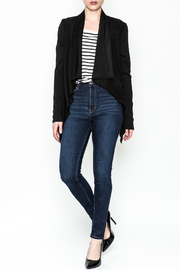 z supply Suede Waterfall Jacket - Side cropped