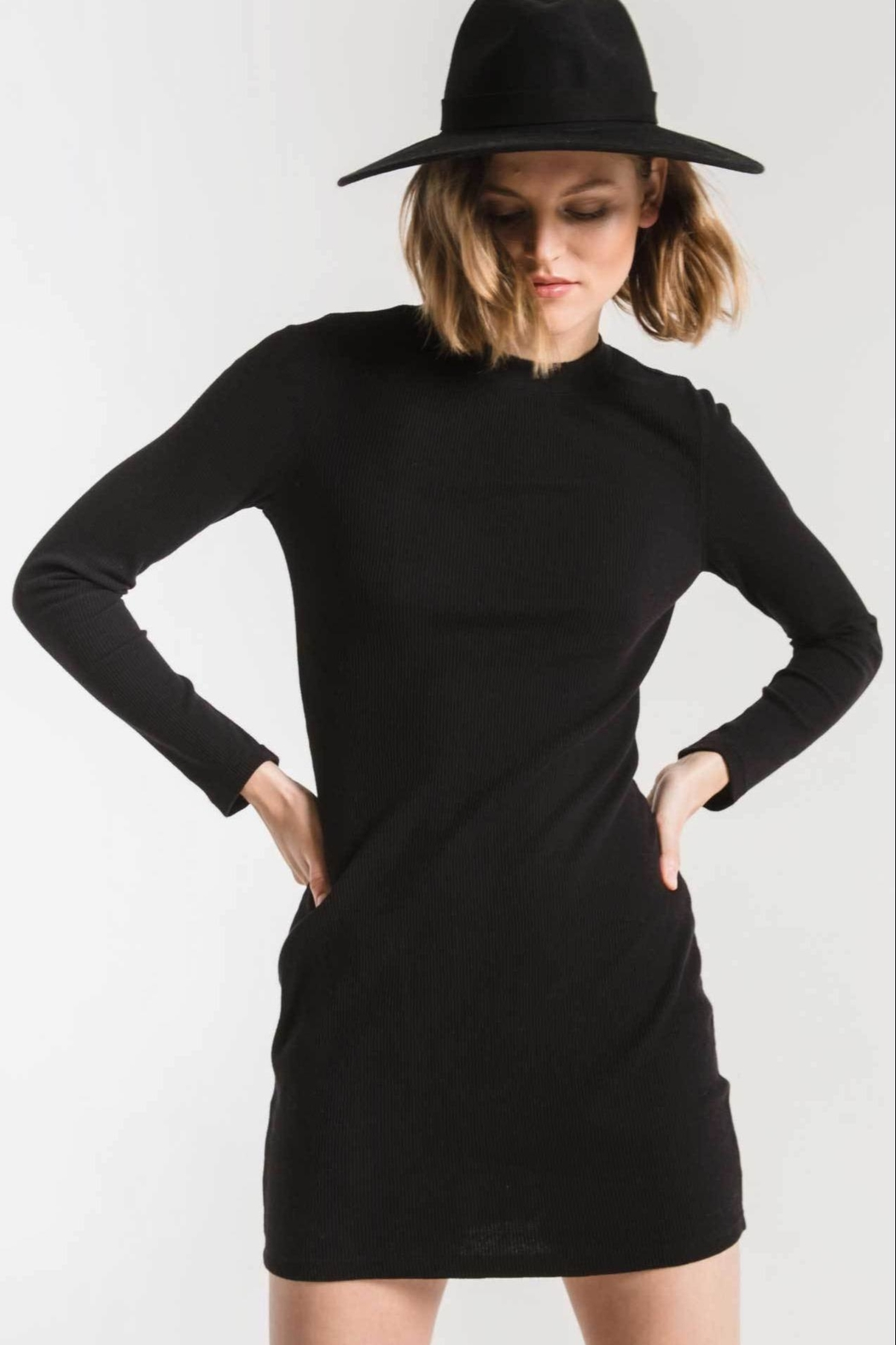 z supply Thermal  Dress - Front Cropped Image