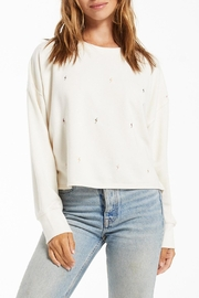 z supply Amelia Mini-Bolt Pullover - Front cropped