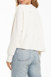 z supply Amelia Mini-Bolt Pullover - Side cropped