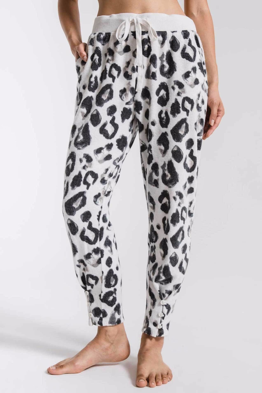 z supply Amur Leopard Joggers - Front Cropped Image