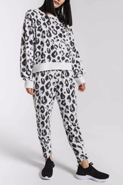 z supply Amur Leopard Joggers - Front full body