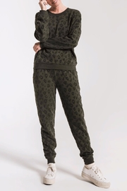 z supply Animal Flocked Jogger - Product Mini Image