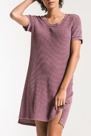 z supply Aster Thermal Dress - Front cropped