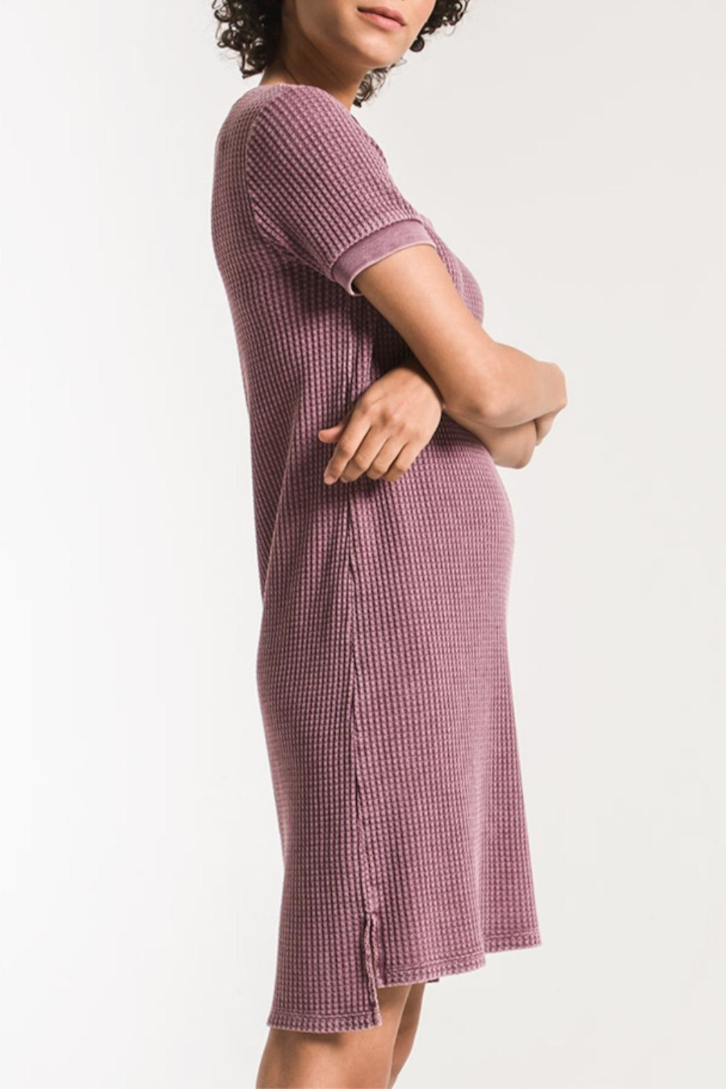 z supply Aster Thermal Dress - Side Cropped Image