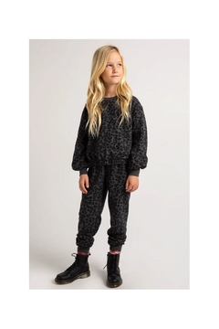 Z Supply  Ava Leopard Joggers- Girls - Product List Image