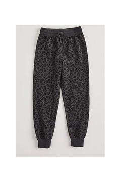 Z Supply  Ava Leopard Joggers- Girls - Alternate List Image