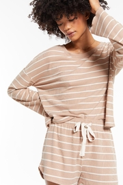 z supply Betty Stripe Long Sleeve Top - Product Mini Image