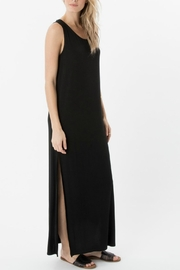 z supply Black Slit Maxi Dress - Product Mini Image