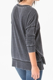 z supply Black Waffle Thermal - Front full body