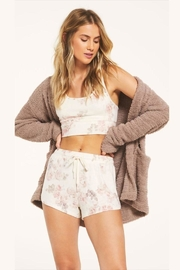 z supply Floral Comfy Shorts - Product Mini Image