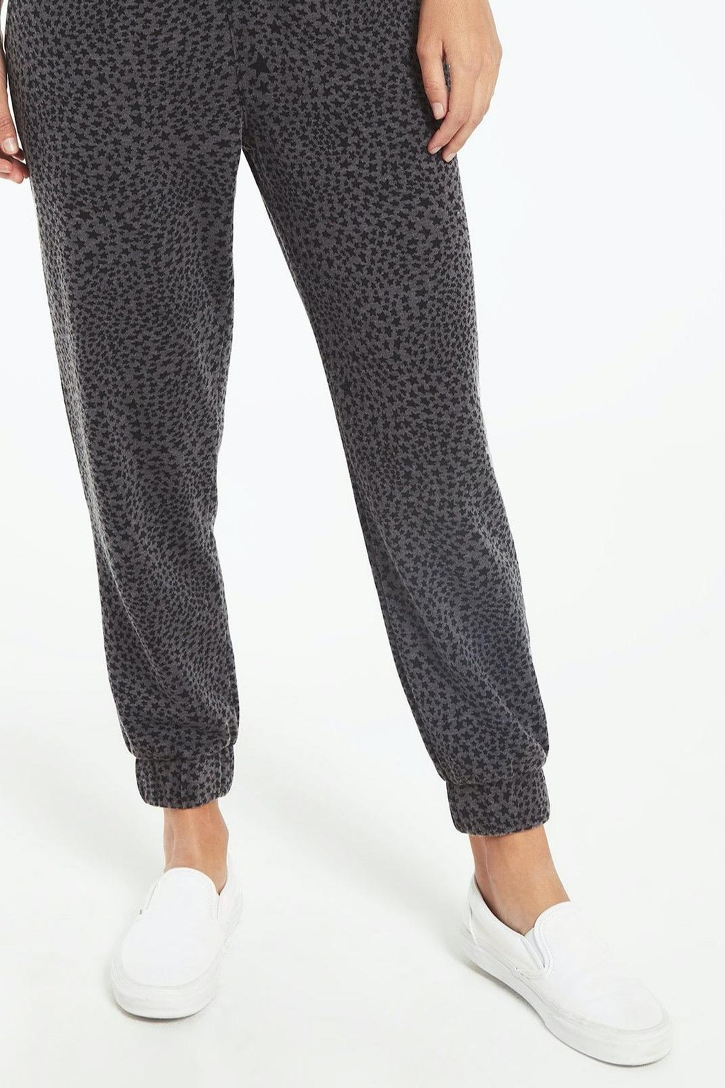 z supply Cadence Stardust Jogger-Charcoal - Main Image