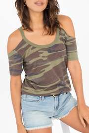 z supply Camo Cold Shoulder - Product Mini Image