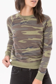 z supply Camo Crew Pullover - Product List Image
