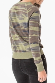 z supply Camo Crew Pullover Top - Side cropped