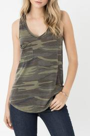 z supply Camo Pocket Tank - Product Mini Image