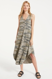 z supply Camo Reverie Dress - Front cropped
