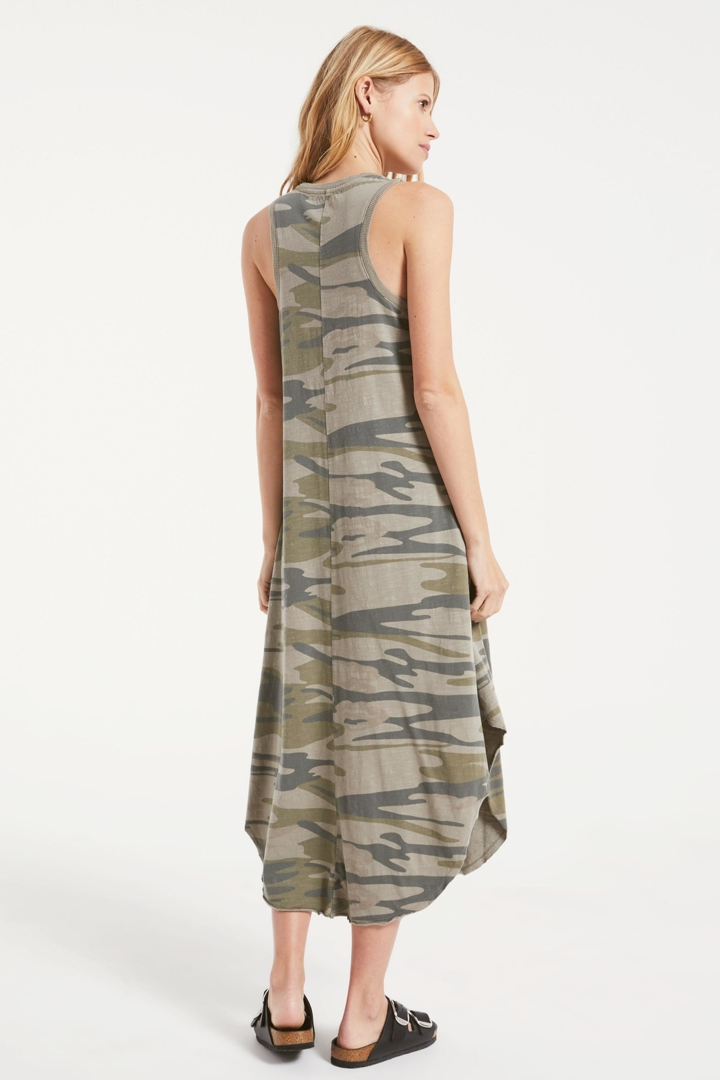 z supply Camo Reverie Dress - Side Cropped Image
