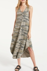 z supply Camo Riverie Dress - Front cropped