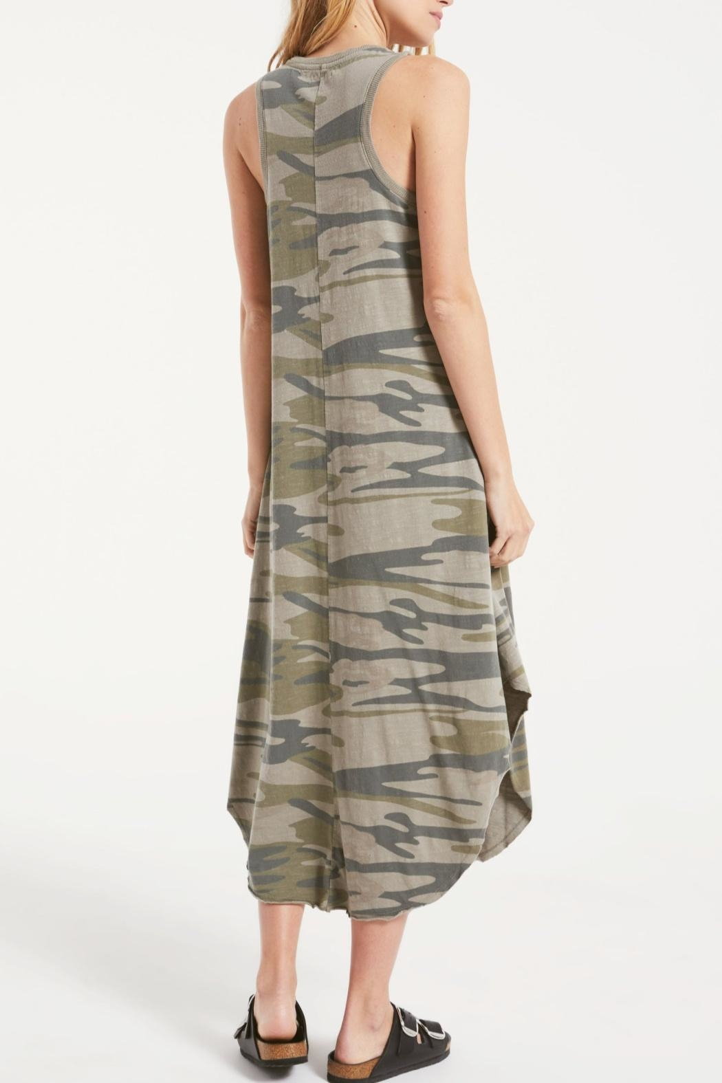 z supply Camo Riverie Dress - Side Cropped Image