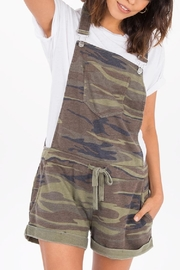z supply Camo Short Overalls - Front cropped