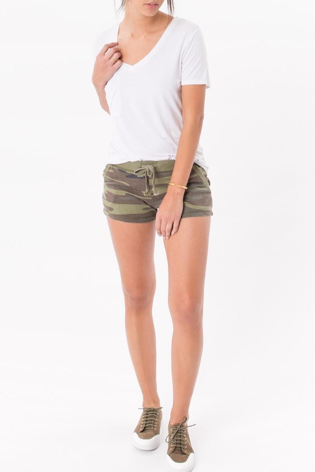 z supply Camo Shorts - Front Cropped Image