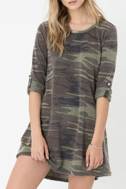 z supply Camo Symphony Dress - Product Mini Image