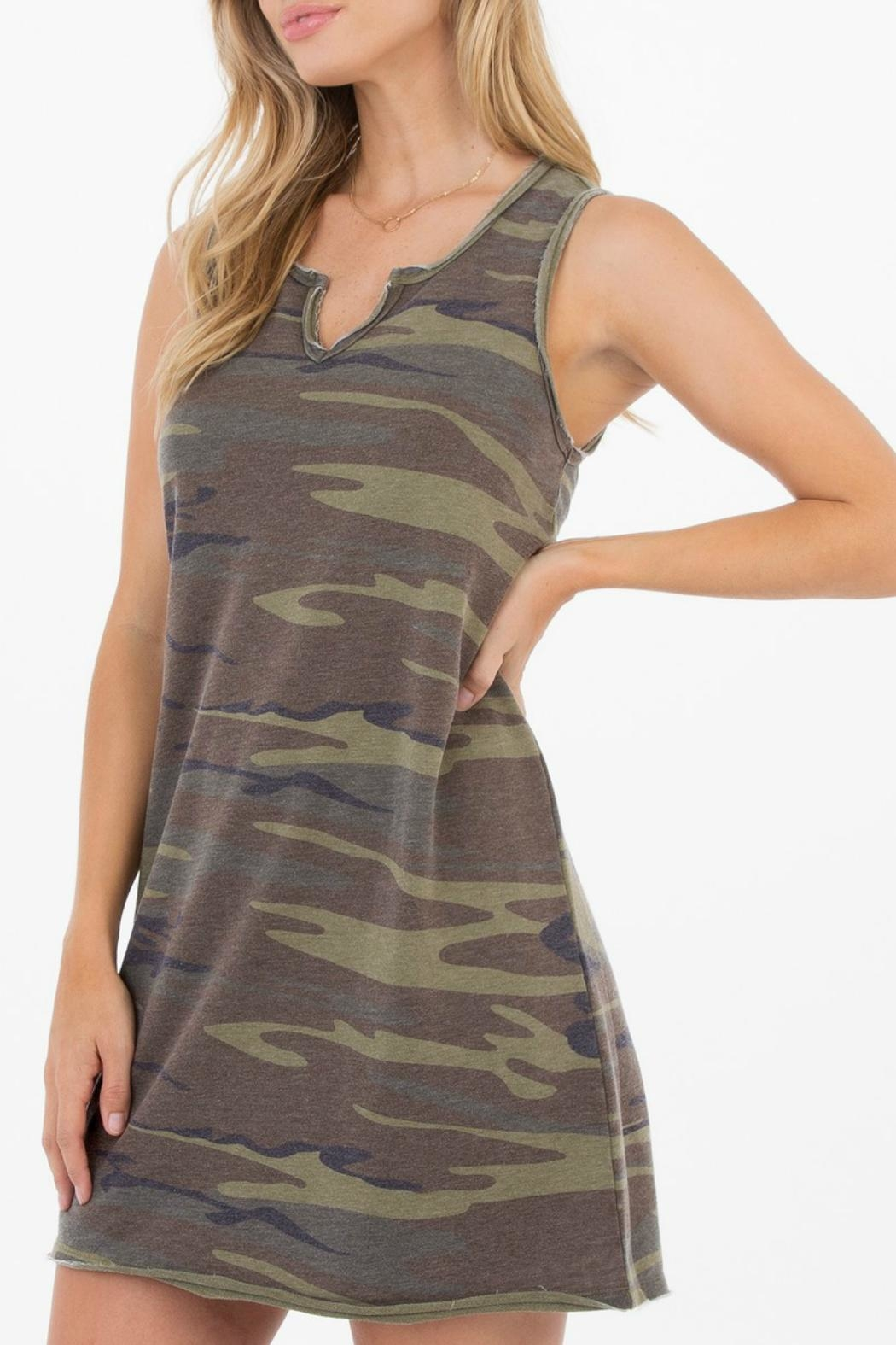 z supply Camo Tank Dress from New Hampshire by Gondwana — Shoptiques
