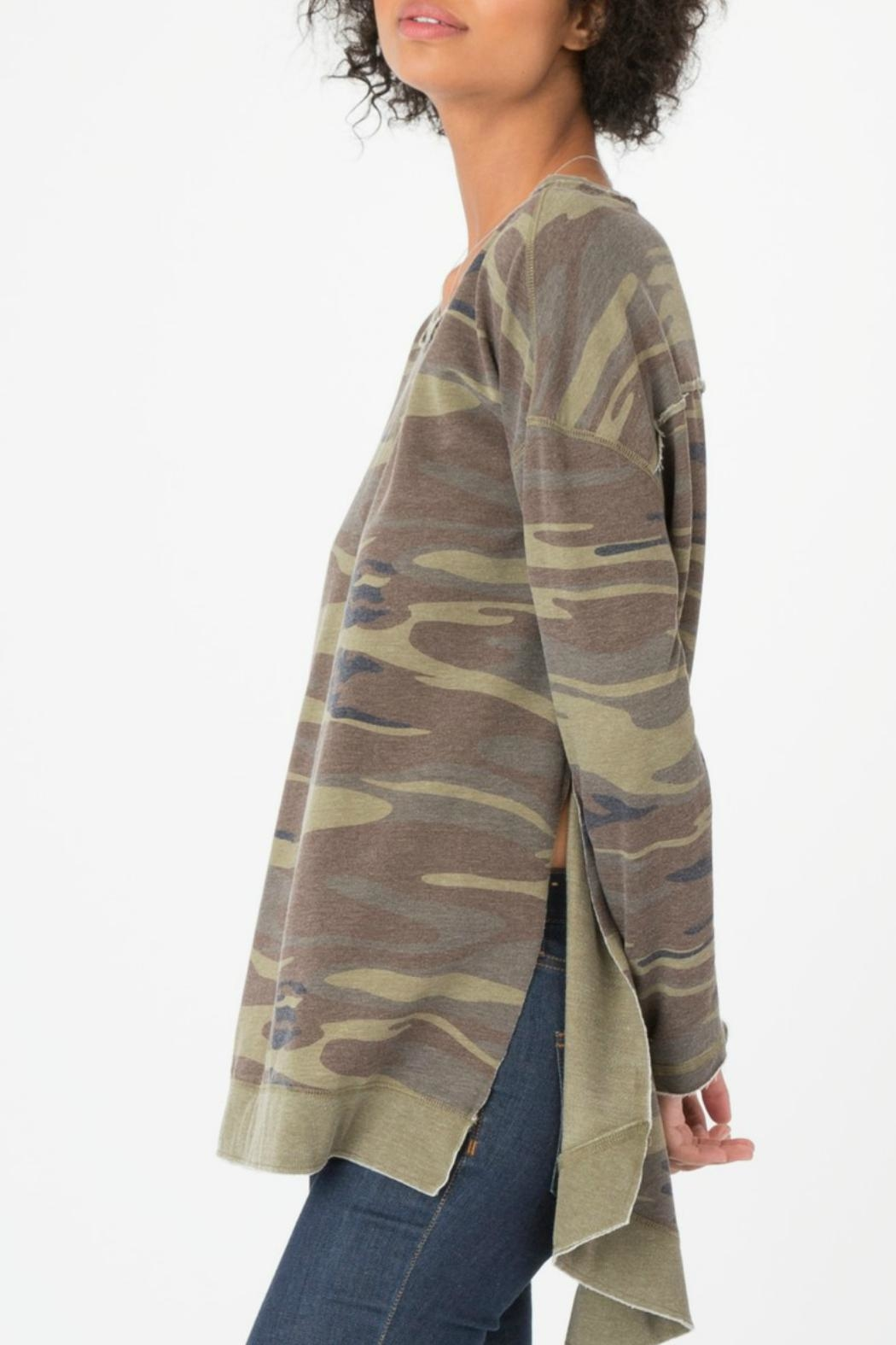 z supply Camo Weekender Pullover - Front Full Image
